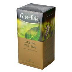 Чай GreenField Чай Green Melissa зеленый 25 пакетиков. Оптом и в розницу MAS HoReCa