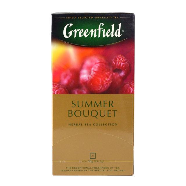 Чай GreenField Чай Summer Bouquet фруктово-ягодный 25 пакетиков. Оптом и в розницу MAS HoReCa